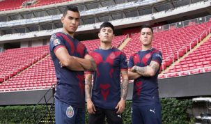 Uniforme alternativo de Chivas para el Clausura 2019